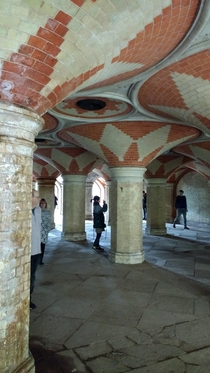 Crystal Palace Subway London We visited during an annual open house event Created for people to get from the train station to the Crystal Palace building httpwwwcpsubwayorgukabout-the-subwayhtml