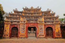 Cua Tho Chi Gate at Imperial Citadel in Hue Vietnam