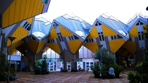 Cube Houses In Rotterdam Holand