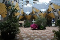 Cube houses in Rotterdam the Netherlands