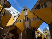 Cube Houses Rotterdam Holland  OC