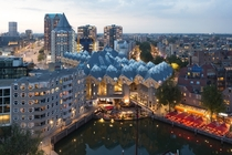 Cube houses Rotterdam the Netherlands