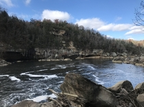 Cumberland Falls in Corbin Kentucky
