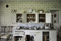 Cupboards in This Abandoned House Still had Everything in Them