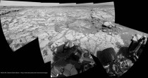 Curiosity Rover latest panorama Sol