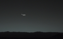 Curiosity Rover takes first pic of Earth from Mars