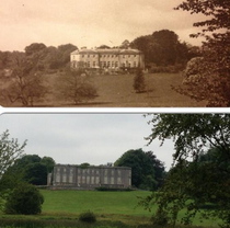 Curraghchase House Ireland Destroyed by fire in