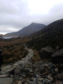 Cwm Idwal North Wales UK Amazing scenery but not so amazing wheather