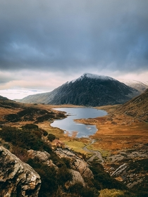 Cwm Idwal Snowdonia North Wales UK x OC