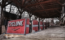 Cyclone - abandoned amusement park in Pennsylvania