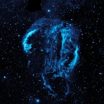 Cygnus Loop Nebula - about  light years away  years old picture may have already been posted