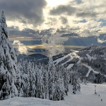 Cypress Mtn West Vancouver BC Canada  OC