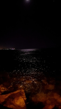 Cyprus at night