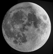 D moon - composite of two different phases