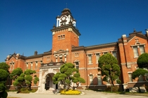 Daehan Hospital a western style two storey brick building built in  by the government of the Korean Empire on a royal order of the king The clock tower has baroque elements Currently used as the Seoul National University Museum of Medicine Jongno District