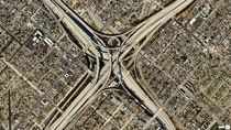 Daily Overview Judge Harry Pregerson Interchange Los Angeles overveu
