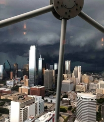Dallas TX Storm Approaching