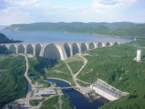 Daniel-Johnson Dam Quebec Canada