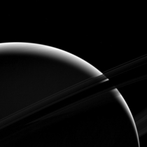 Dark Side of Saturns Rings Revealed by Cassini Spacecraft