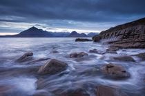 Darkness Descends - Elgol Isle of Skye Scotland - By Adam Burton