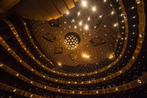 David H Koch Theater at the Lincoln Center New York City - designed by architect Philip Johnson