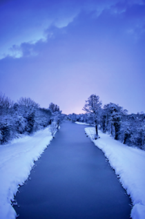 Dawn - After a Rare Snowstorm in Ireland  x