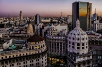 Dawn in Buenos Aires Argentina