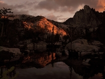 Dawn in the Enchantments near Leavenworth WA