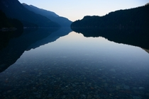 Dawn Indian Arm North Vancouver BC