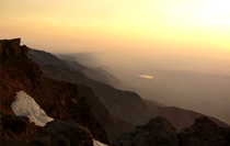 Dawn on Steens Mountain Oregon