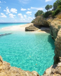 Day dreaming of Caribbean blue - Turtle Cove Anguilla