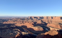 Dead Horse Point Utah at Sunrise Today Stunningly Beautiful