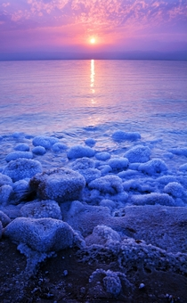 Dead Sea Sunset Jordan