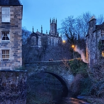 Dean Village Edinburgh United Kingdom