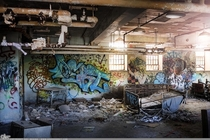Debt Bed - Abandoned Psychiatric Hospital in New York