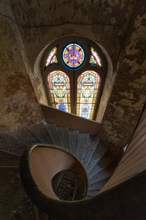 Decay of Spiral Church Stairs