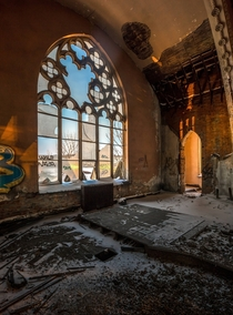 Decaying church in Pittsburgh