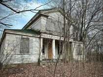 Decaying Greek Revival Beauty Michigan USA