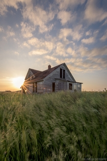 Decaying home in Nebraska