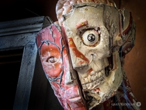 Decaying Mr Innards in a Beautiful Countryside School Japan