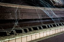 Decaying Piano Inside Abandoned Foundry Philadelphia x