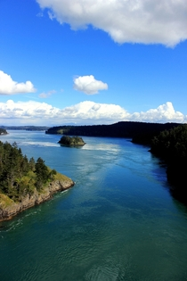 Deception Pass Island County Washington state
