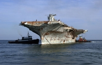 Decommissioned aircraft carrier USS Oriskany CV- Pensacola Fla