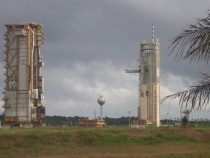 Decommissioned Ariane  launch site French Guiana