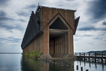 Decommissioned ore dock in Marquette MI  by Little Alaska