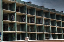Decrepit Hotel Fenals Spain