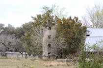 Decrepit old silo found in the farmland of florida