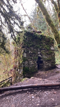 Decrepit remains of a late s smelting kiln abandoned deep in the woods of the PNW This kiln is the last remaining structure of an old limestone mining settlement