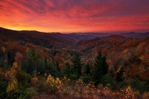 Deep Creek Overlook Great Smoky Mountains National Park By Phil Varney Photography