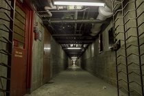 Deep in the tunnels underneath an old vacant psychiatric hospital Ontario Canada OC x